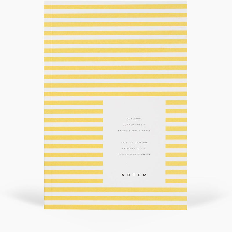 Notem VITA Softcover Notebook - Small - Yellow
