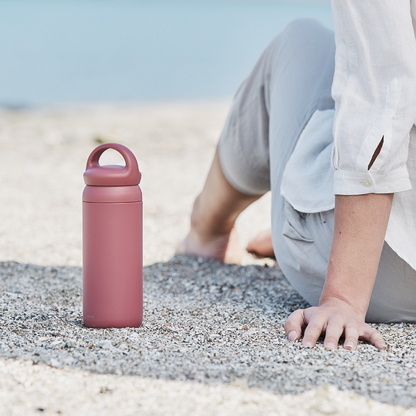 KINTO Day Off Travel Tumbler - 500ml Rose