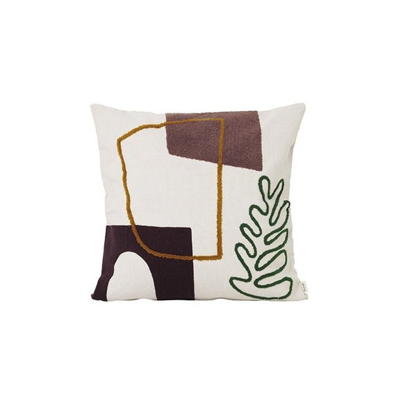 Ferm Living Mirage Cushion - Leaf