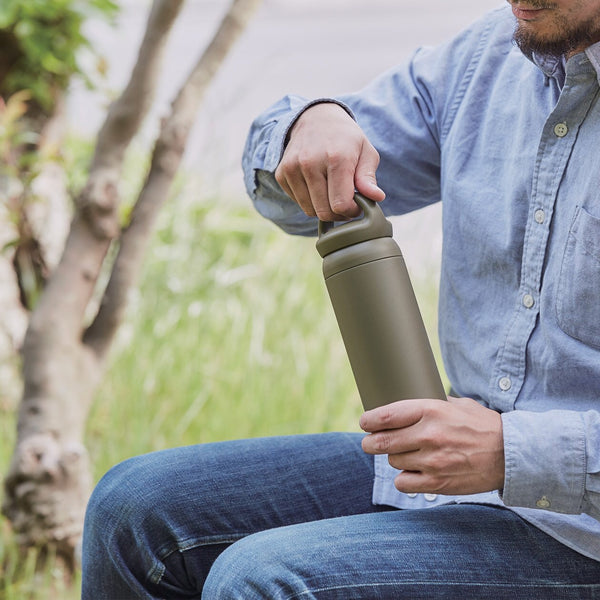 KINTO Day Off Travel Tumbler - 500ml Khaki