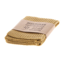 Iris Hantverk Household Cloth - Golden Green