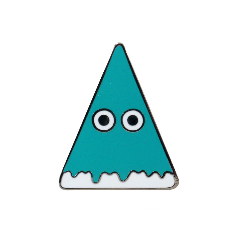 Studio Arhoj - Metal Pin - Series #1 - Green Pyramid
