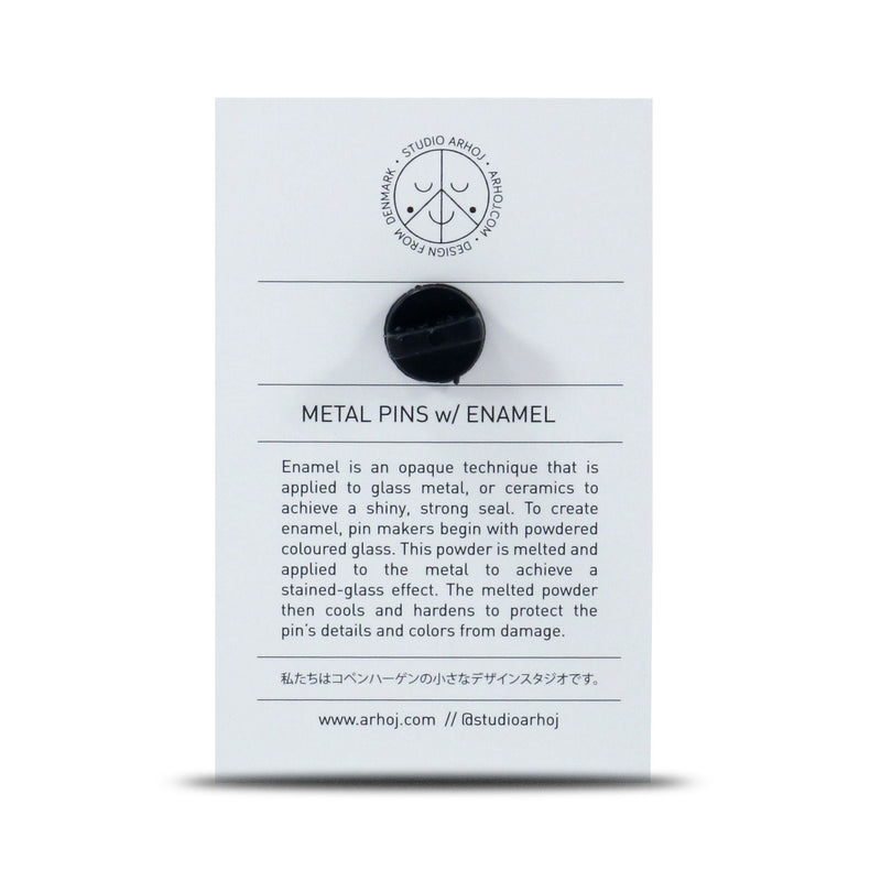 Studio Arhoj - Metal Pin - Series #1 - Ghost Eyes