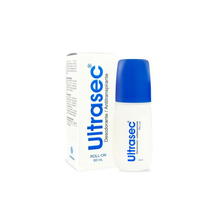 ULTRASEC DESODORANTE ANTITRANSPIRANTE ROLL ON 60 ML PHARMADERM (590638678067)