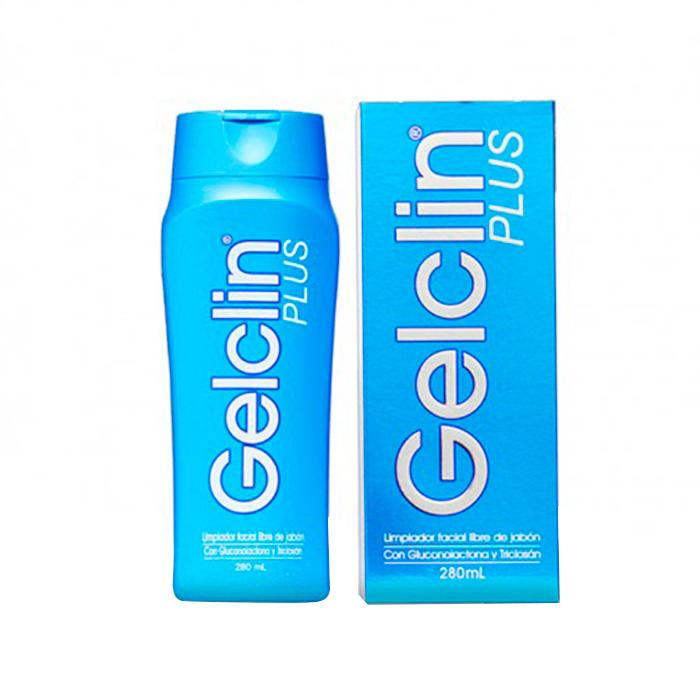 GELCILN PLUS LIMPIADOR FACIAL 280 ML SKINDRUG (590642675763)
