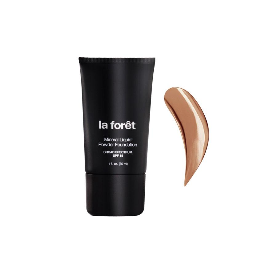 LIQUID POWDER MINERAL FOUNDATION SPF 15 HONEY BRONZE 30 ML LA FORET