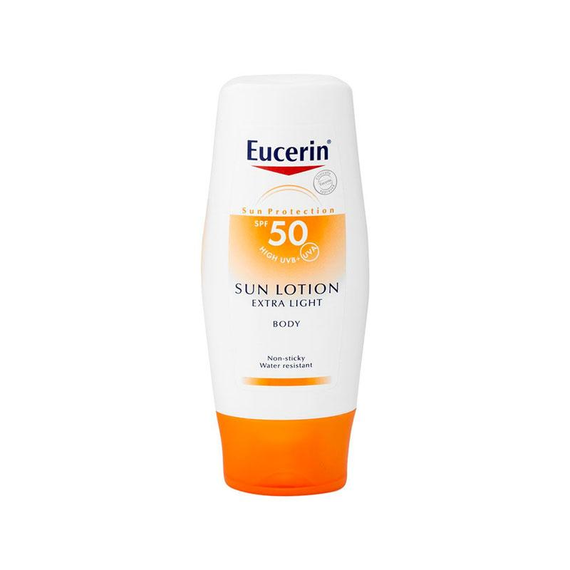 SUN LOTION EXTRA LIGHT FPS 50 150 ML EUCERIN