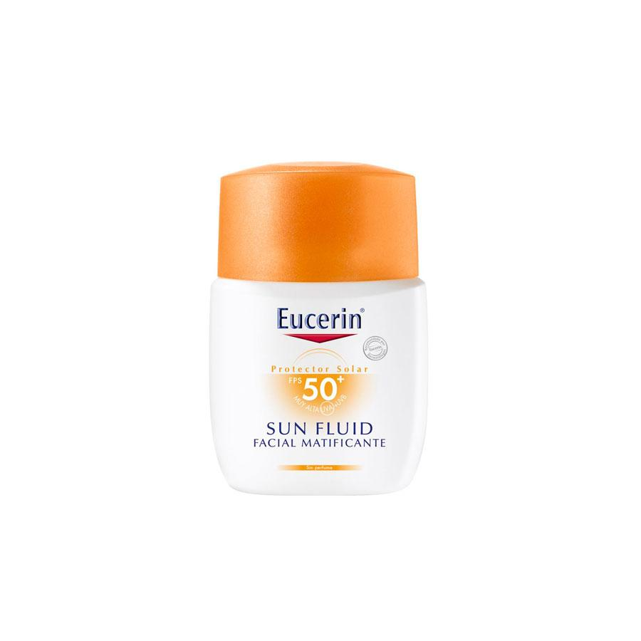 SUN FLUIDO MATIFICANTE FPS 50 50 ML EUCERIN (590646509619)