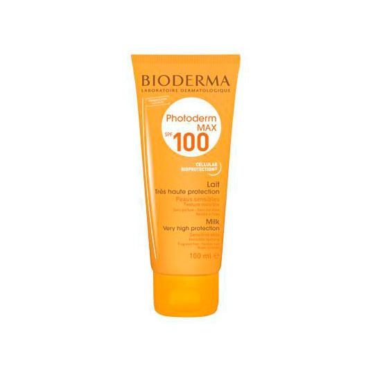 PHOTODERM MAX LAIT SPF 100 ML BIODERMA - Bellefarma (572669722675)