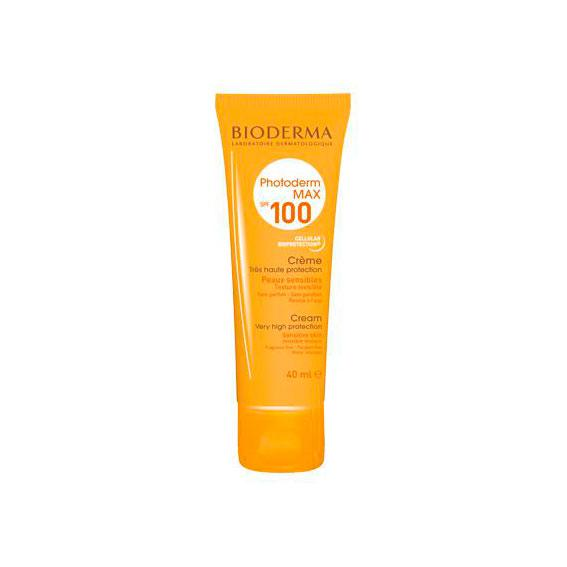 PHOTODERM MAX CREMA SPF 100 40 ML BIODERMA - Bellefarma (590650277939)