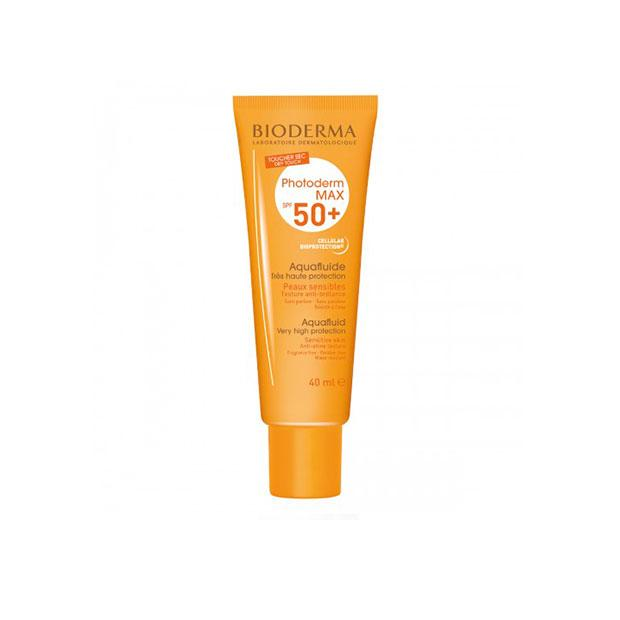 PHOTODERM MAX AQUAFLUIDO SPF 50 NEUTRO 40 ML BIODERMA - Bellefarma (590658043955)