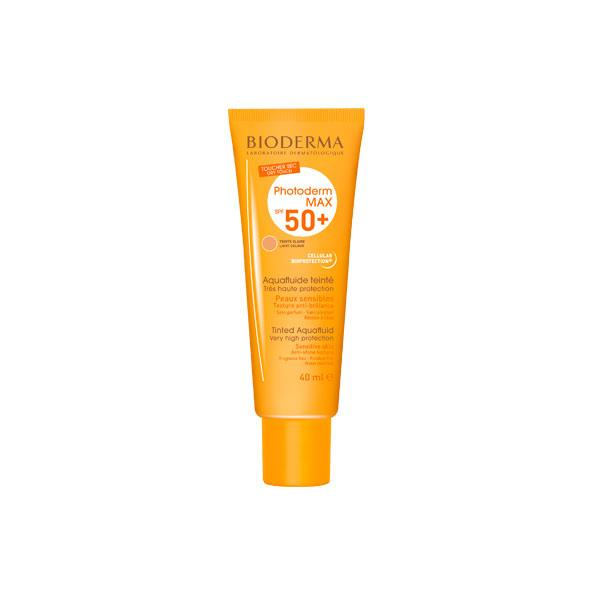PHOTODERM MAX AQUAFLUIDO SPF 50 TONO CLARO 40 ML BIODERMA