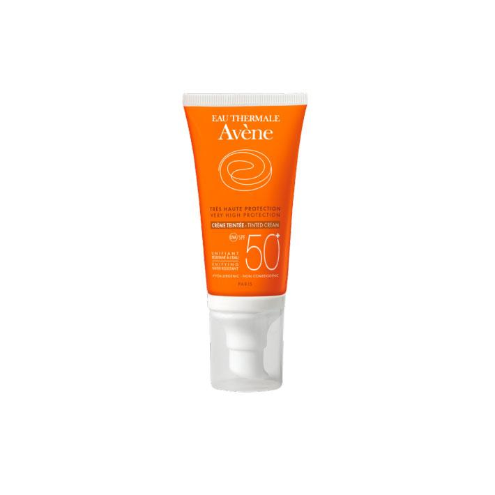 PROTECCION SOLAR CREMA COLOREADA SPF 50 AVENE