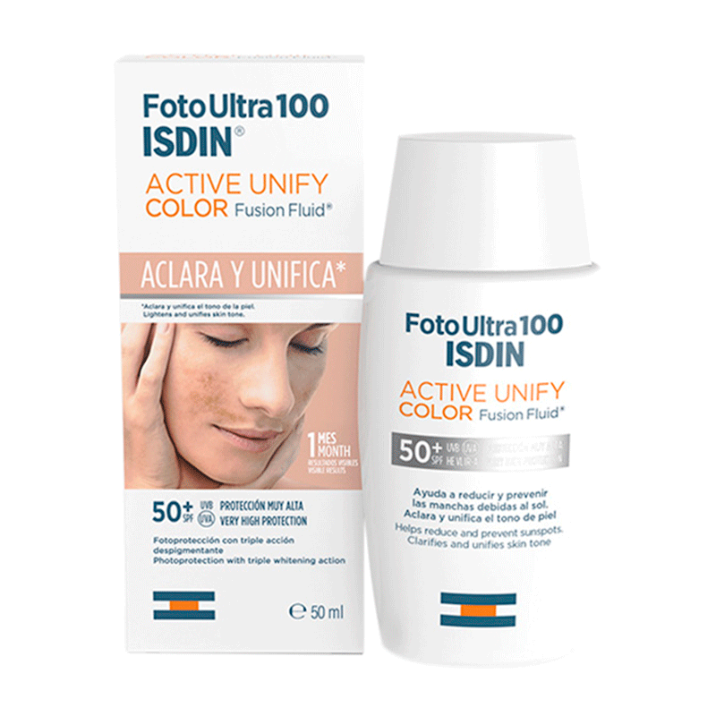 ISDIN Foto ultra  100 Actve unify fusion fluid .color spf 100+ x 50ml