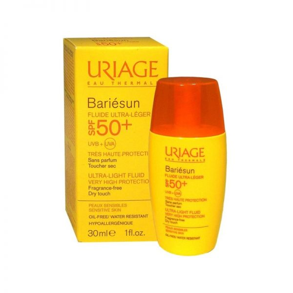 BARIESUN TOQUE SECO SPF50+ FRASCO X 30ML URIAGE - Bellefarma (1951462817843)