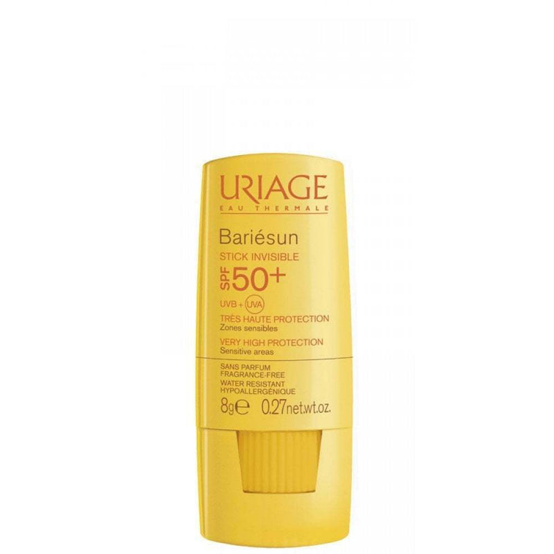 BARIESUN STICK INVISIBLE SPF50+ BARRA X8GR URIAGE - Bellefarma (1951459606579)
