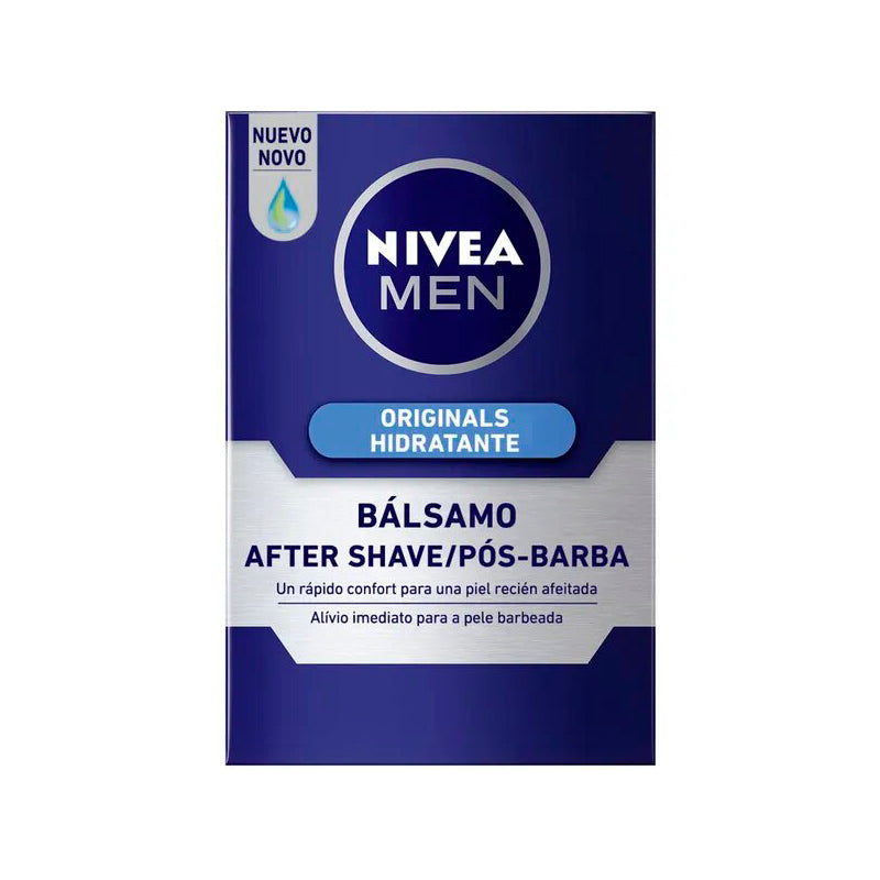 AFTER SHAVE BÁLSAMO HIDRATANTE - NIVEA