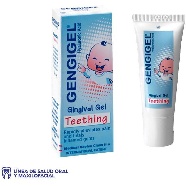 GENGIGEL TEETHING (ACIDO HIALURONICO) 0.54% GEL PARA BEBES TUBX20ML RICERFARMA (4556088967239)