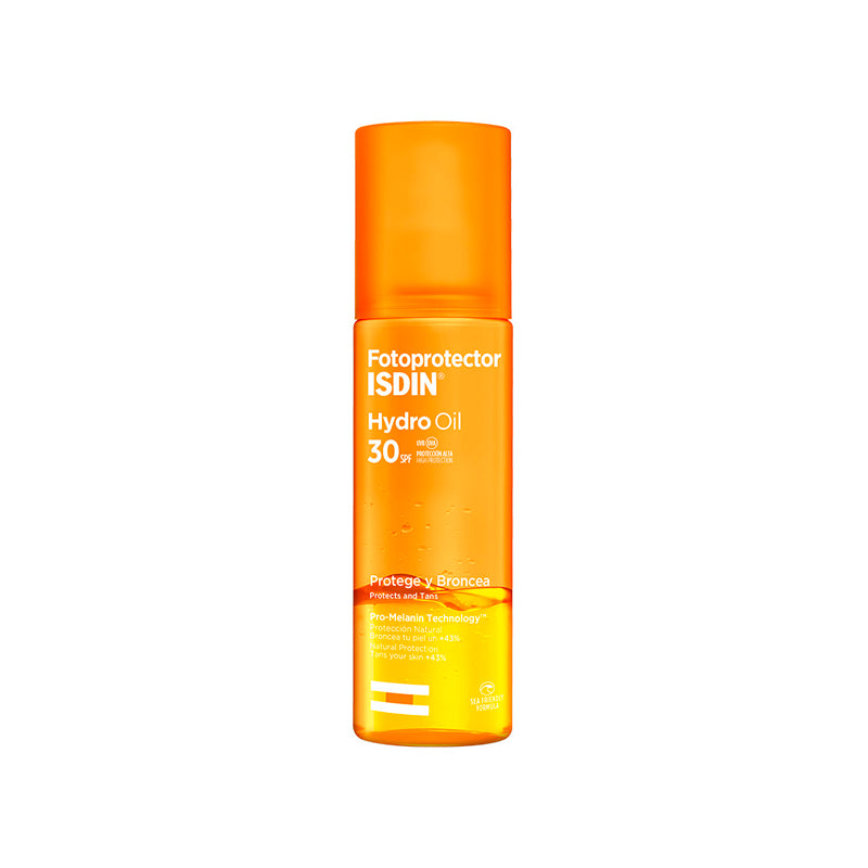HYDRO OIL SPF 30 FOTOPROTECTOR QUE BRONCEA - ISDIN (4193901183027)