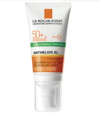 ANTHELIOS GEL-CREMA ANTI-BRILLOS SIN PERFUME SPF 50+
