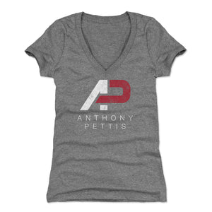 Anthony Pettis Women's V-Neck T-Shirt | 500 LEVEL