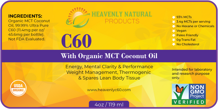 C60 MCT Thermogenic Oil (Buy 2 and Save) - C60 Oil