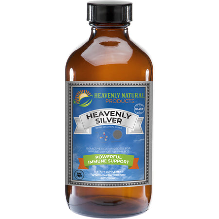 Heavenly Silver Daily Immune System Support - C60 Oil