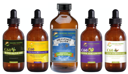 ULTIMATE ANTI-VIRAL COMBO - VIRUS PREVENTION - C60 Oil