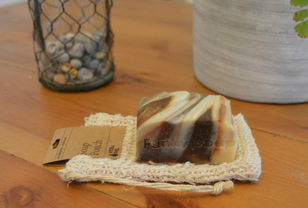 Sustainable Sisal Soap Pouch
