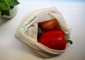 Sustainable / Zero Waste / Reusable /  Plastic Free Cotton String Bag