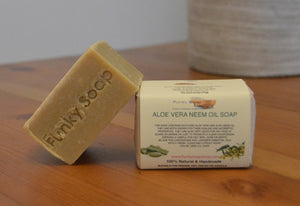 Aloe Vera & Neem Oil Soap Bar 120g
