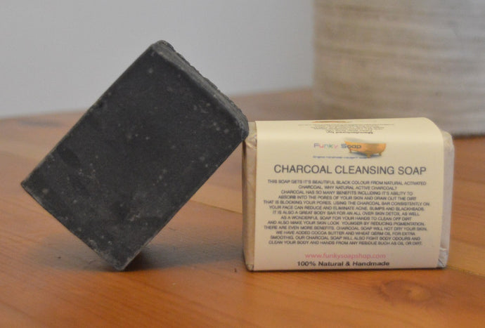 Activated Charcoal Cleansing Soap Bar 120g