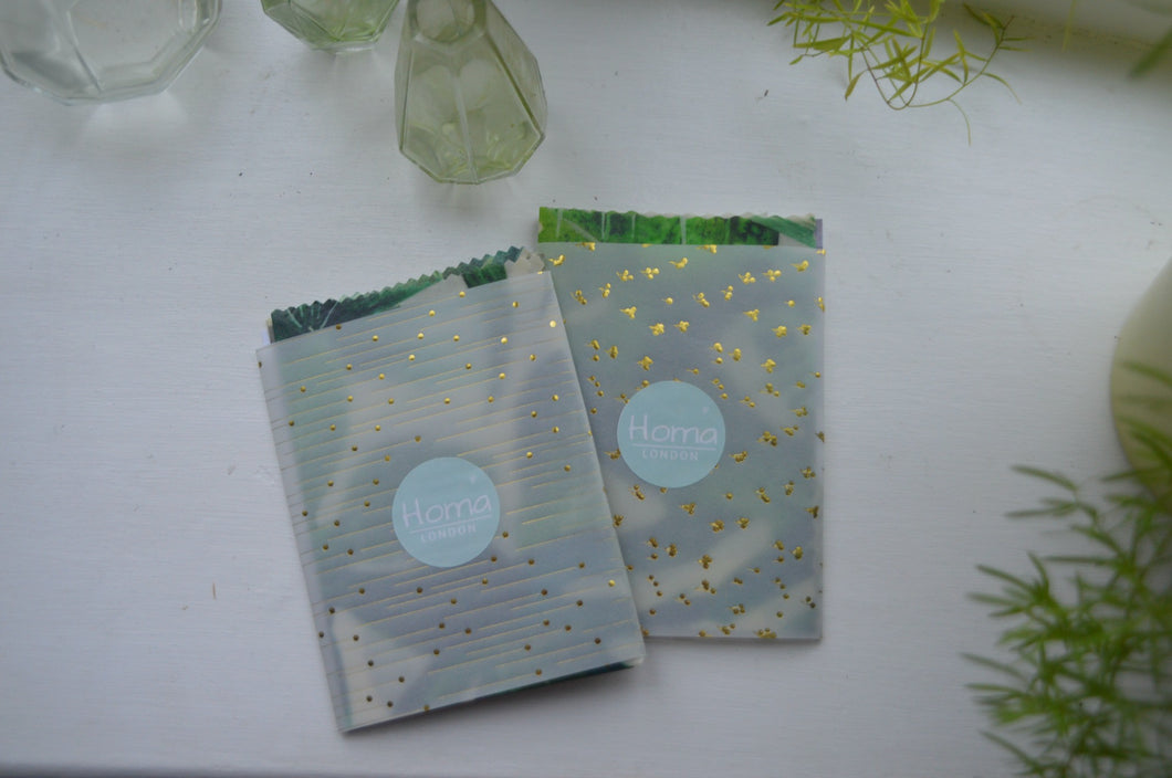Reusable Beeswax Wraps - Small Pack of 3