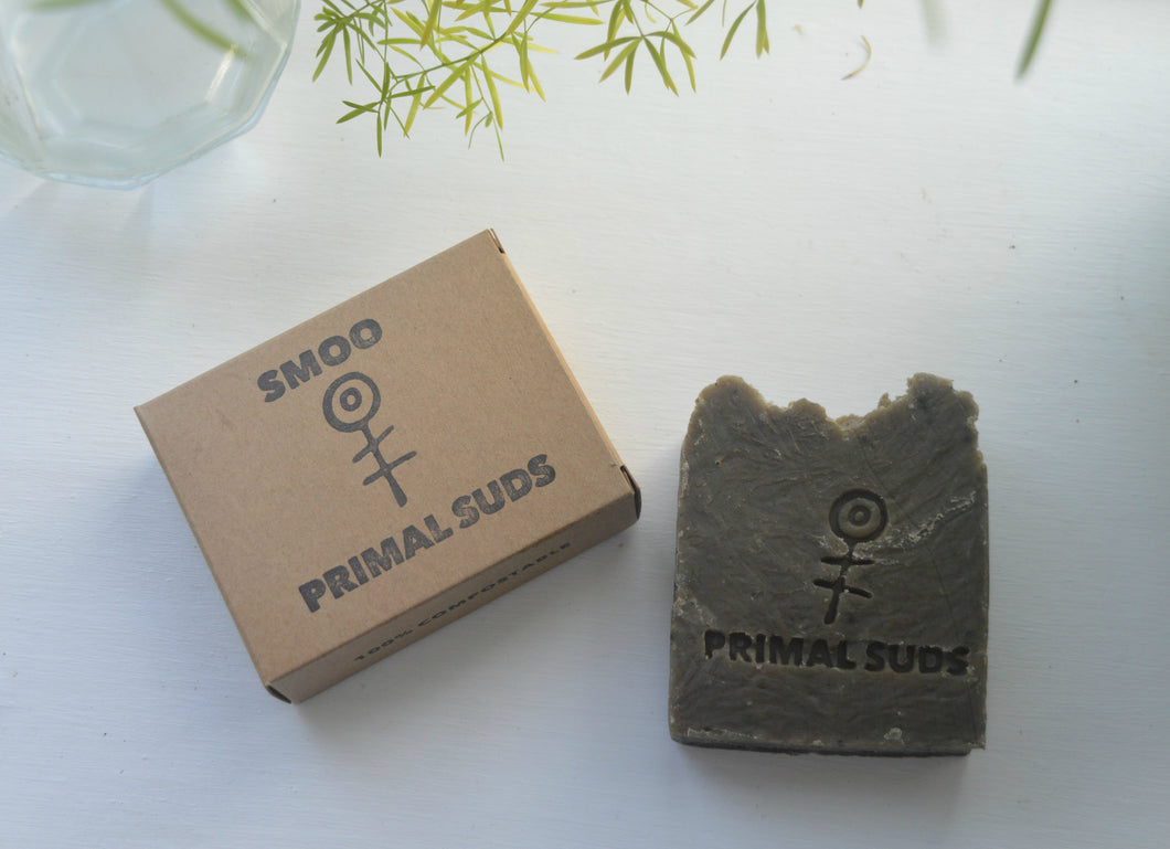 Smoo Natural Vegan Soap - Primal Suds 120g