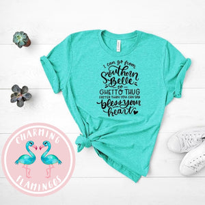 Southern Belle To Ghetto Thing Graphic Tee