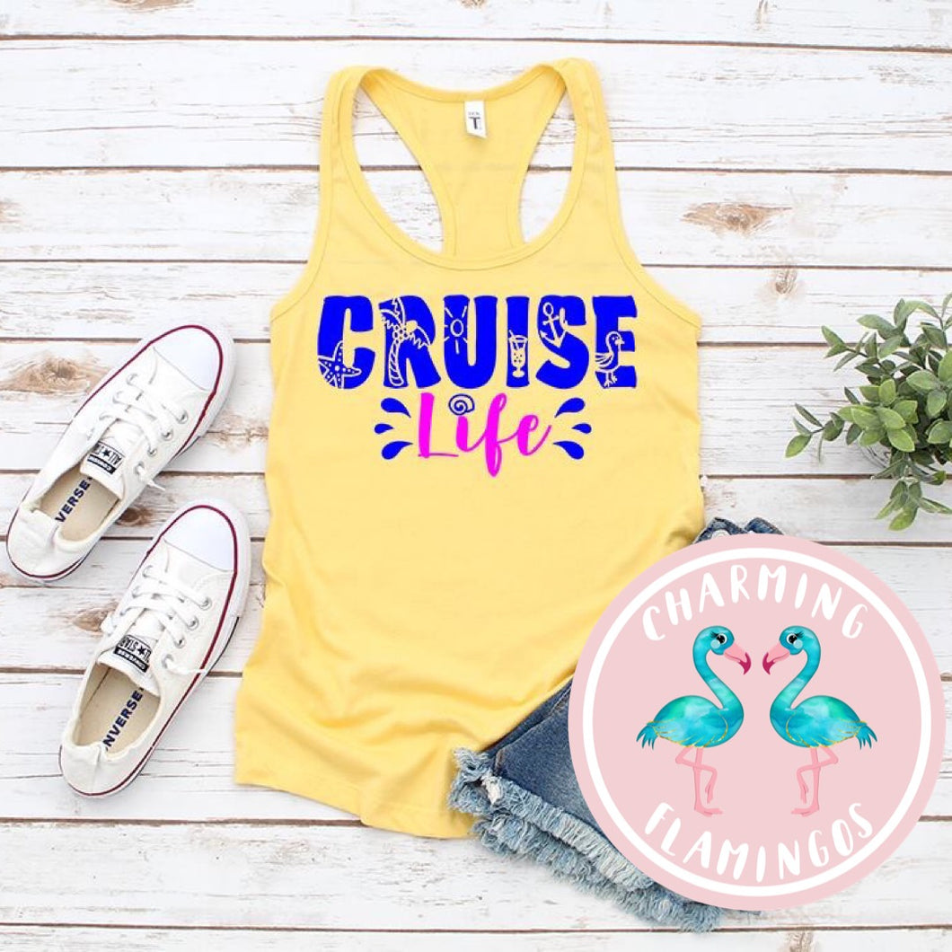 Cruise Life Graphic Tank