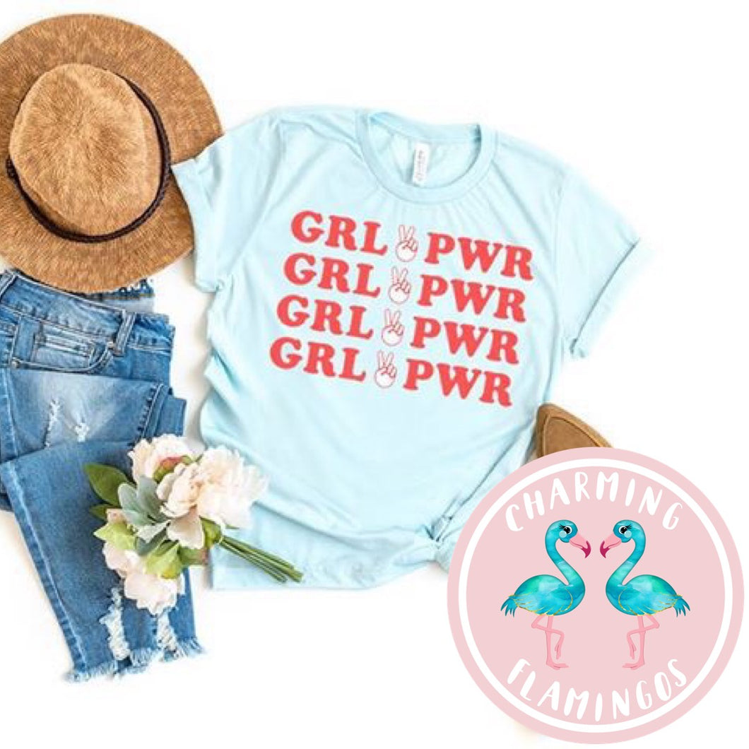 Girl Power Graphic Tee