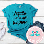 Tequila, Lime & Sunshine Graphic Tee