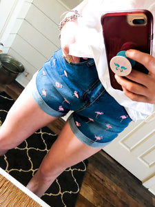 Flamingo Summer Shorts