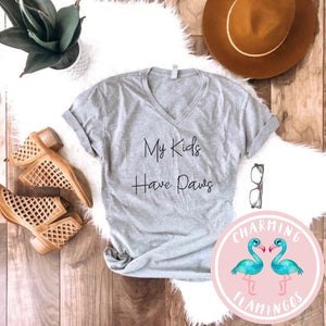 My Kids Have Paws Graphic Tee