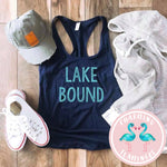 Lake Bound Graphic Tank