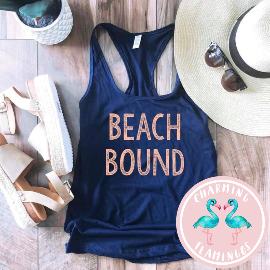 Beach Bound Graphic Tank