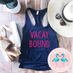 Vacay Bound Graphic Tank