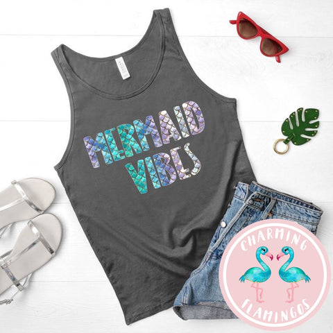 Mermaid Vibes Graphic Tank