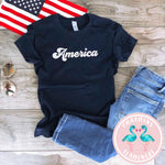 America Kids Graphic Tee