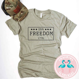 Freedom License Plate Men's Graphic Tee
