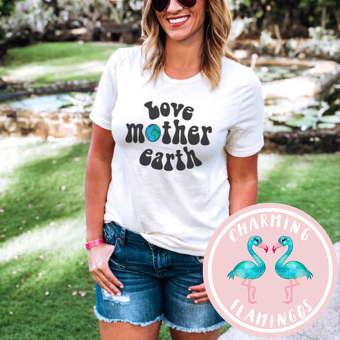 Love Mother Earth Graphic Tee