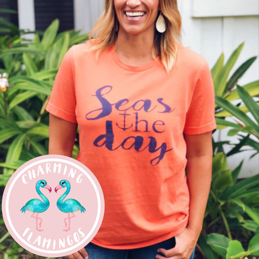 Seas The Day Graphic Tee