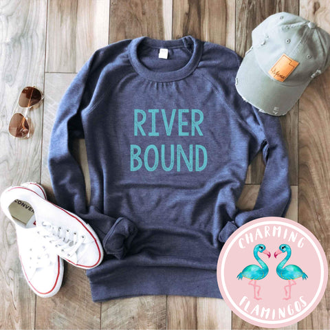 River Bound Graphic Sweater