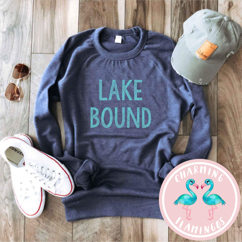 Lake Bound Graphic Sweater